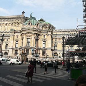 巴黎歌剧院广场旅游景点攻略图
