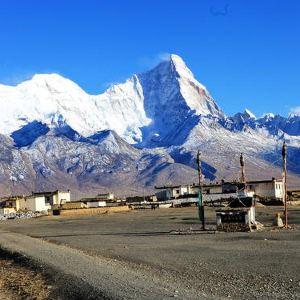 卓木拉日雪山旅游景点攻略图