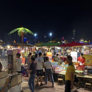 云南西双版纳景洪市告庄夜市旅游景点攻略图