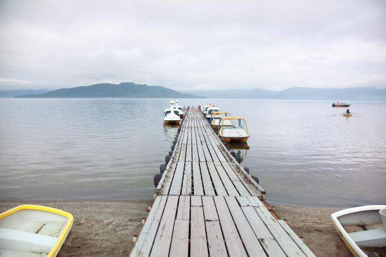 Sunayu Lake Kussharo