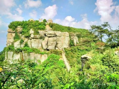 Tiantai Mountain Scenic Area
