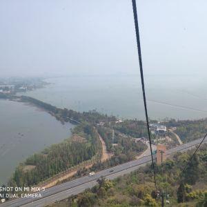 滇池西山索道旅游景点攻略图