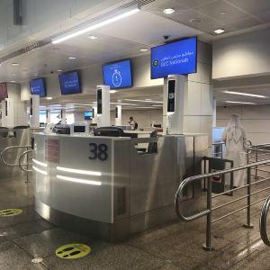 迪拜国际机场旅游景点攻略图