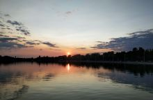 帕里奇湖日落