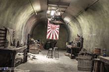 隐藏在山脉中的二战碉堡