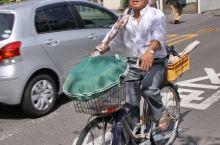 骑单车的日本人