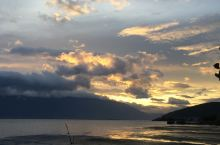 洱海的黄昏