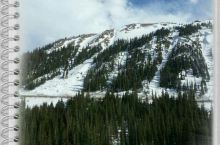 美丽的科罗拉多滑雪小镇