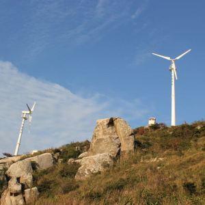 风力发电大风车旅游景点攻略图