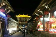 渭南韩城文庙夜景之四