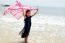 欢快的湄洲岛海边游
