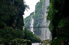 马岭河桥空壮观,一跨天堑淨波澜