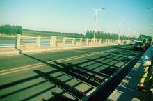 清马湖大桥的景色