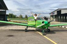 马来西亚新山私人飞机试驾初体验