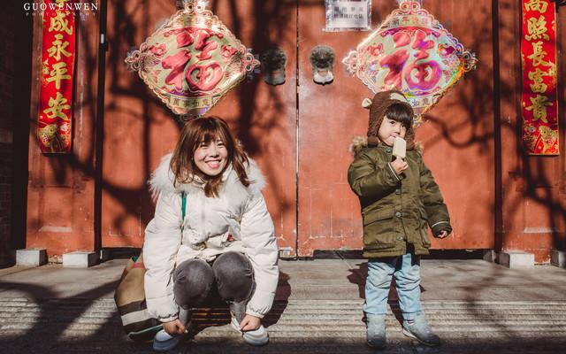 【首发】#冬季北京#冬日里的暖阳胡同口的笑,这就是我心目中的北京呀