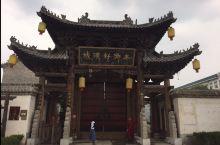 山东菏泽著名的千年历史古城郓城县的《水浒城》