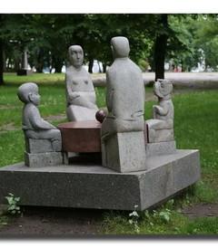 [克莱佩达游记图片] 波罗的海四国游(39):雕塑公园
