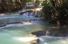 老挝光西瀑布