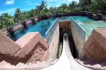 #视频征集令# 全球最刺激的水滑道,高空直接冲进鲨鱼池