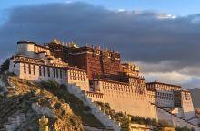 在药王山看一次布达拉宫的日出