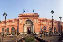 """埃及博物馆:位于尼罗河东岸,是由被埃及人称为""""埃及博物馆之父"""