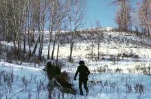 没有雪地摩托之前,禾木居民靠什么穿梭?