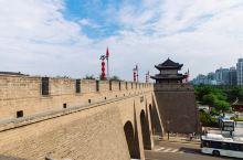 西安城墙——我在上面看到了整个西安!
