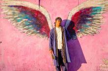 必打卡的洛杉矶网红墙 天使之翼!