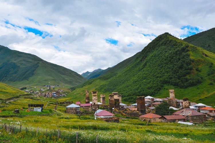 Ushguli Village2