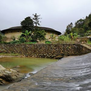 河坑土楼群旅游景点攻略图