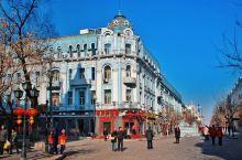 哈尔滨市貌风情的集中,中央大街