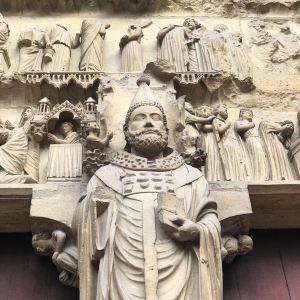 兰斯圣母大教堂旅游景点攻略图