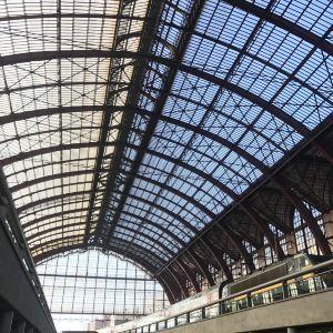 安特卫普中央火车站旅游景点攻略图