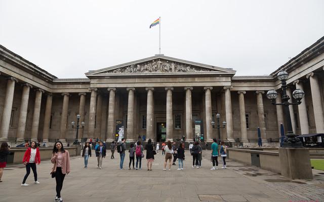 故地重游-英国爱丁堡、苏格兰、湖区和伦敦四地自由行:伦敦⑦大英博物馆