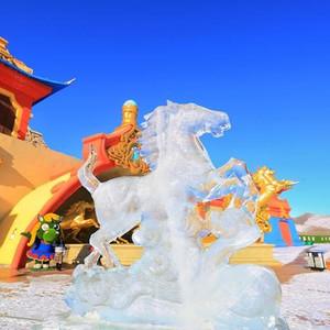 丰宁游记图文-冬季北方冰火奇缘,雪地竞技烤羊烟花秀,中国马镇两日游攻略