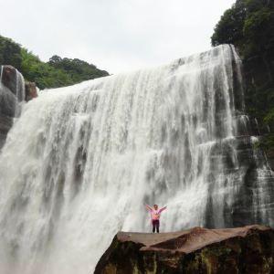 赤水十丈瀑布群旅游景点攻略图