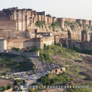 印度游记图文-第941回:拉贾斯坦太阳城堡,居高临下坚不可摧