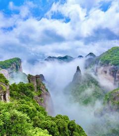 [台州游记图片] 若你向往诗画里的山水,那便来浙江台州领略那山与水和海相融的风情吧!