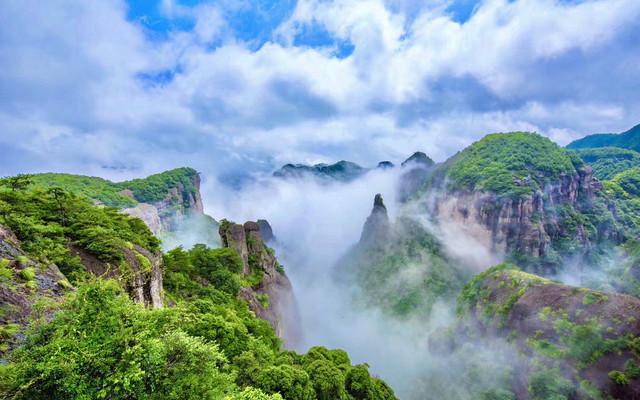 若你向往诗画里的山水,那便来浙江台州领略那山与水和海相融的风情吧!