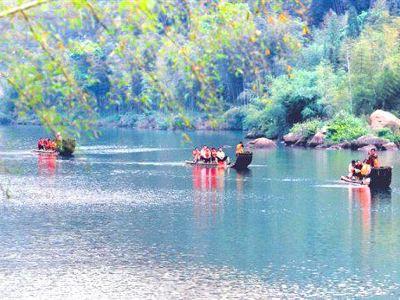 Jiuli Creek and Waterfalls