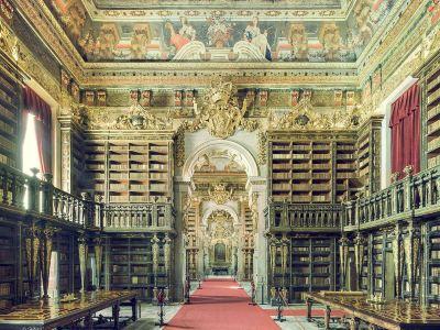 Baroque Library - University of Coimbra