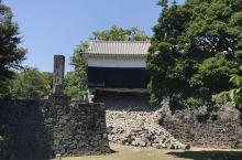 震后修復中的熊本城