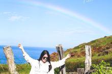 夏威夷茂宜岛 晴空下的双彩虹