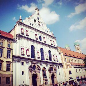圣弥额尔教堂旅游景点攻略图
