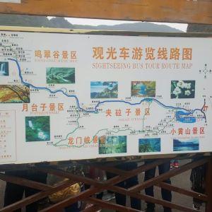关山森林公园旅游景点攻略图