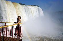 #向往的生活 彩虹这边独好,伊瓜苏瀑布巴西段