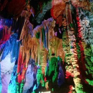 银子岩旅游景点攻略图