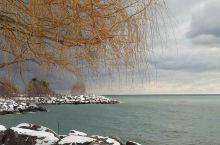 我把手印留在了安大略湖边