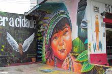 走南美之2:巴西圣保罗的街头涂鸦艺术