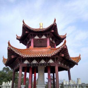 毛泽东观潮诗碑亭旅游景点攻略图
